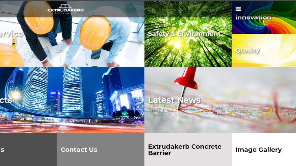 Extrudakerb Website